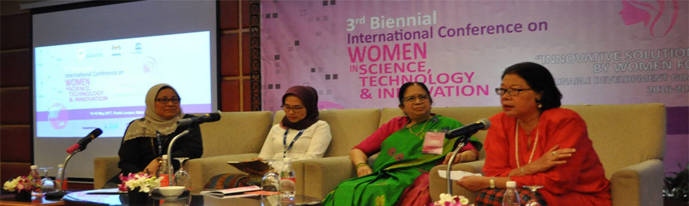 Participated as a Panel Speaker at 3ed Biennial International Conference on WOMEN IN SCIENCE TECHNOLOGY & INNOVATION- Innovative